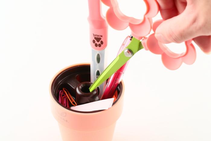 【集購】全台獨賣 Cocone|療癒系盆栽剪刀-綠葉款