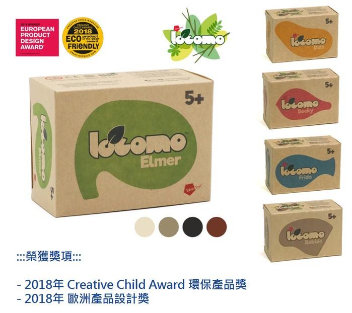 【集購】泰國 Taksa Toys | 動物造型自然互動玩具-彩色
