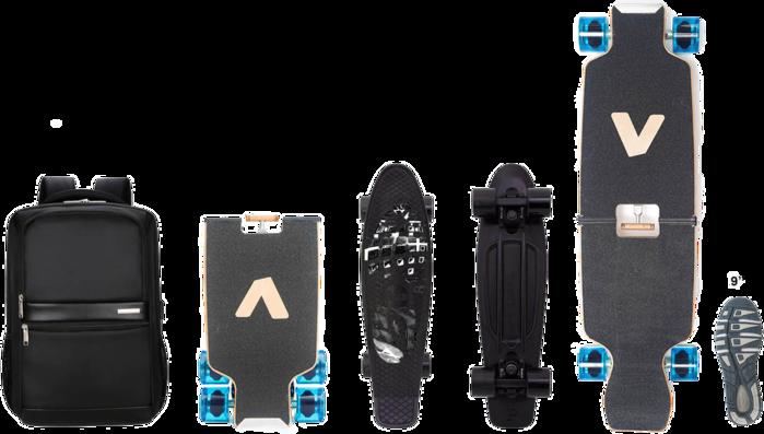 【集購】美國 BoardUp | Longboard V3.3 潮流折疊滑板