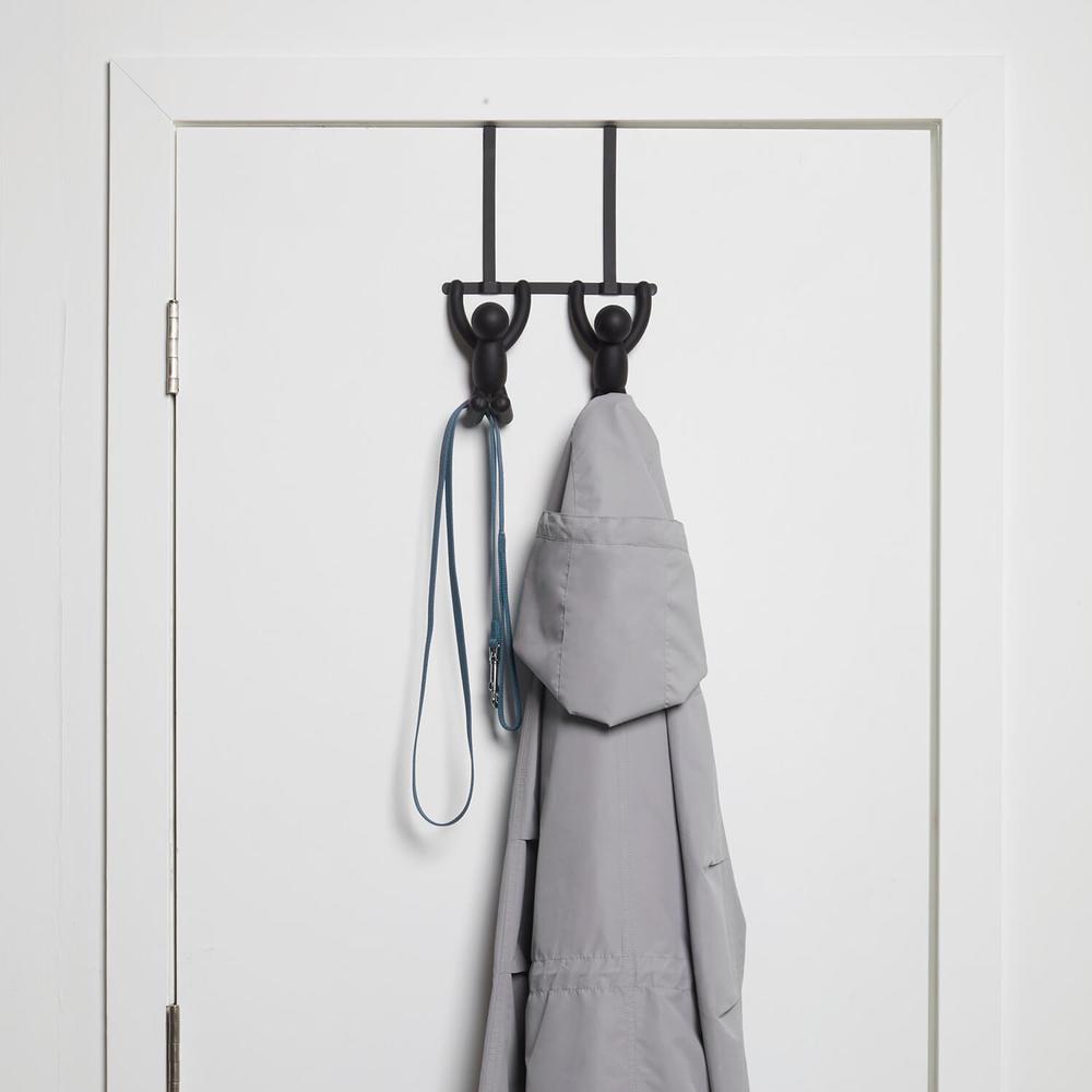 Umbra | BUDDY 小人門後掛鉤 雙鉤 黑