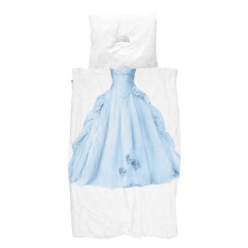 SNURK 夢幻公主系列-冰雪公主 枕套+被套組