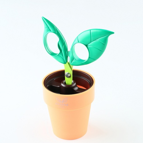 nikken-cutlery|Cocone 療癒系盆栽剪刀-綠葉款