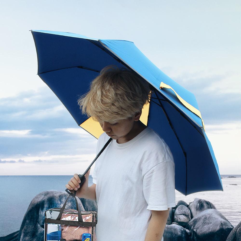 Make Shine|ClipGo原創自動傘(陽光海洋)