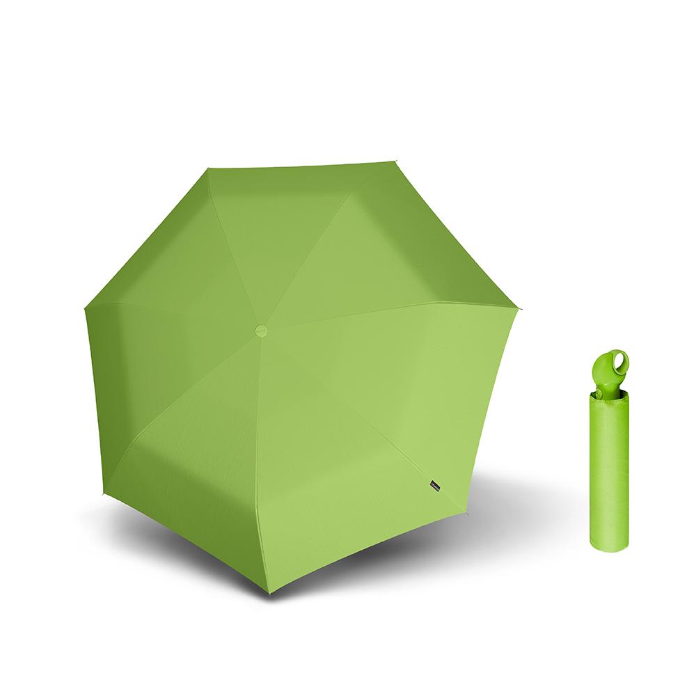 Knirps德國紅點傘|Floyd 超輕三折自動傘 -Green
