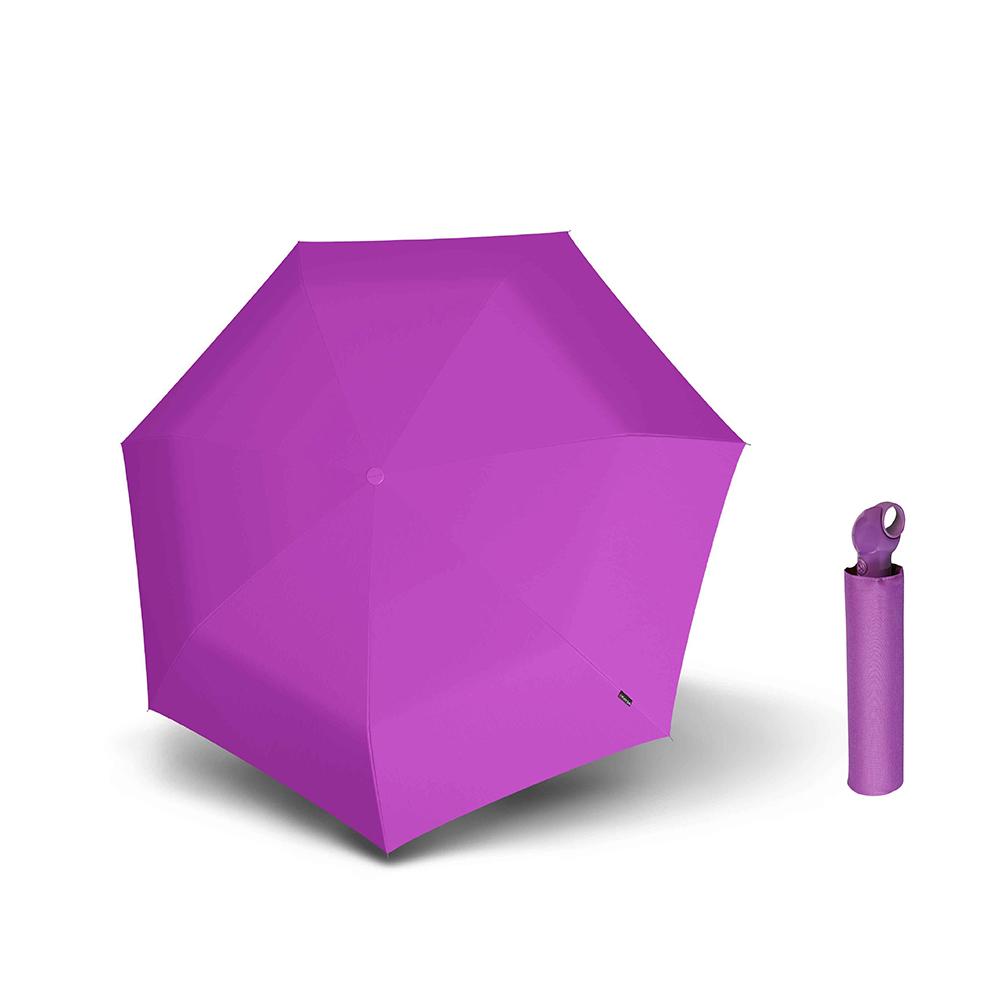 Knirps德國紅點傘|Floyd 超輕三折自動傘 -Violet