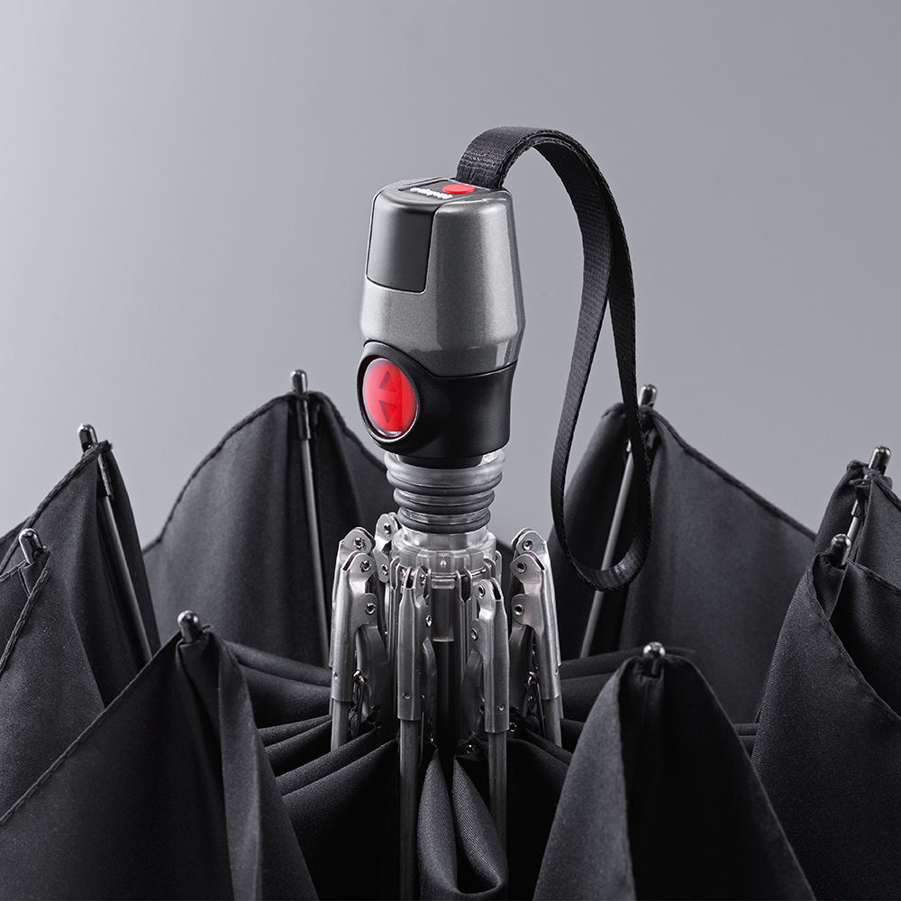 Knirps德國紅點傘|T200 經典自動開收傘-Red