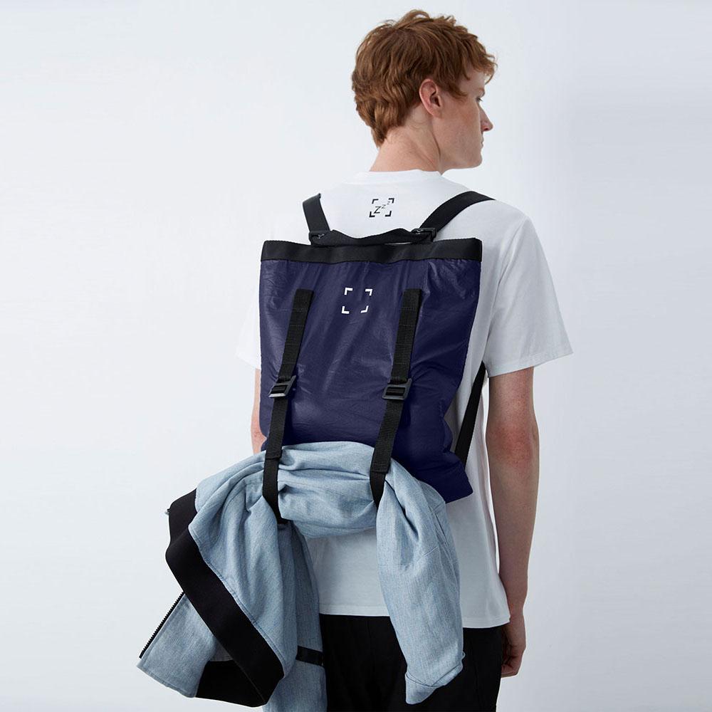 WEAVISM織本主義|守護靈 - 超輕量三用背包 (藍)