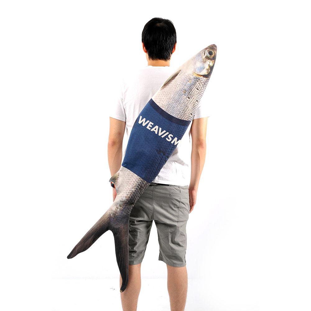 WEAVISM織本主義  WHAT FISH 虱目魚包包 (大)