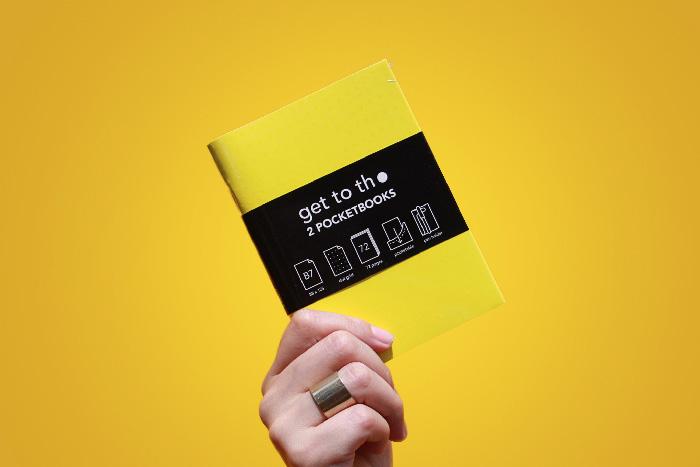 Interrobang Design get to the point 口袋筆記本