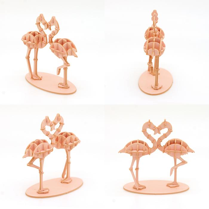 (複製)Team Green 3D紙拼圖 河馬
