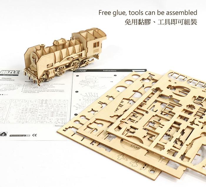 (複製)JIGZLE 3D木拼圖 生活收納-經典汽車電話架