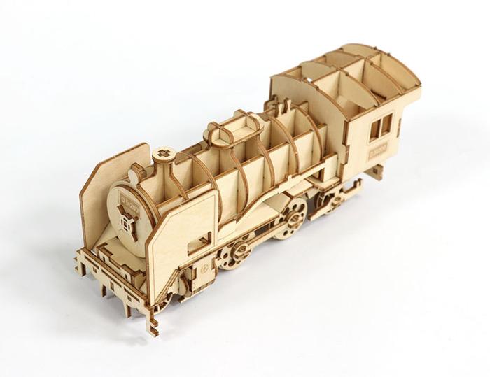 (複製)JIGZLE|3D木拼圖 生活收納-經典汽車電話架