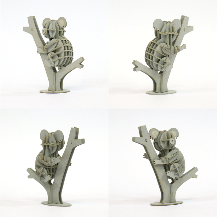 (複製)JIGZLE|3D紙拼圖 鴨子