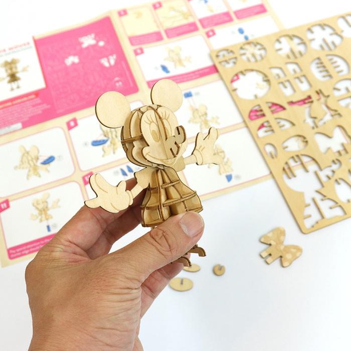 (複製)JIGZLE|3D木拼圖 米奇老鼠