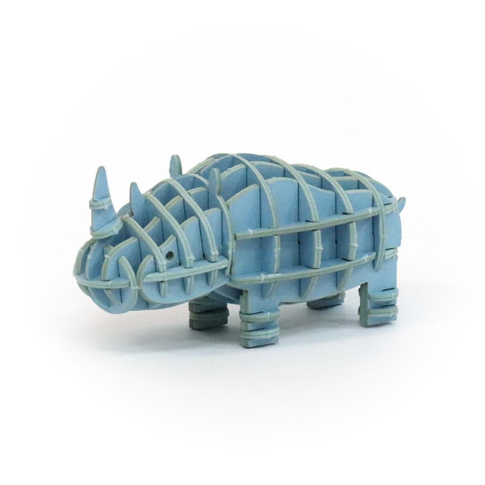 JIGZLE 3D紙拼圖 犀牛