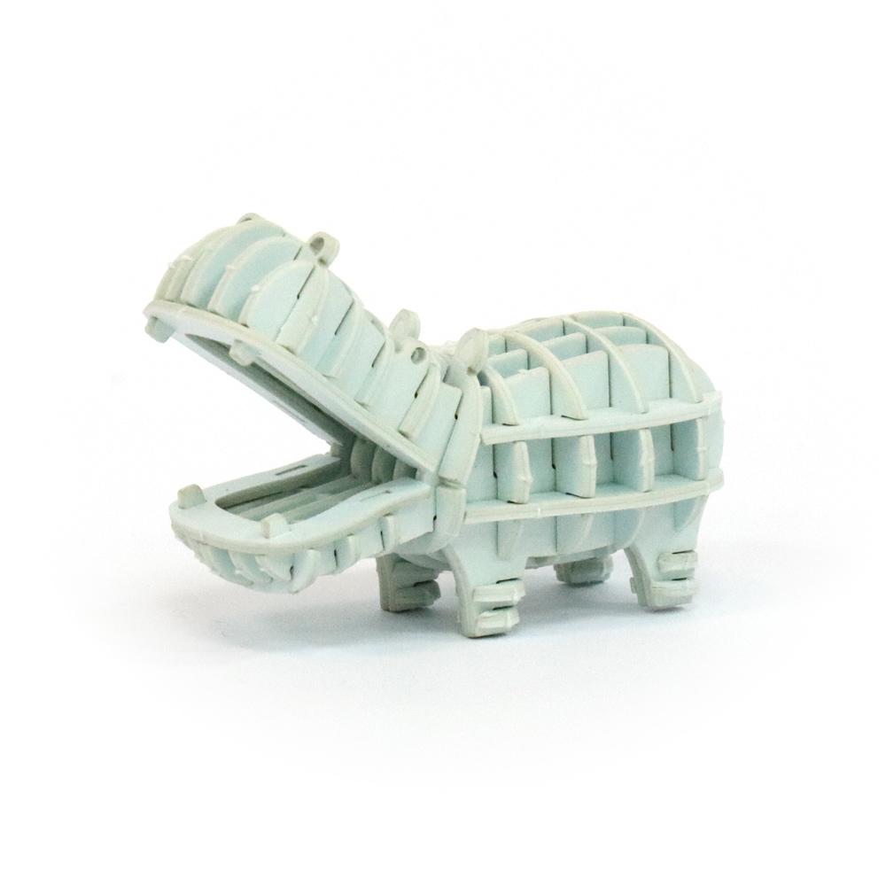 JIGZLE|3D紙拼圖 河馬