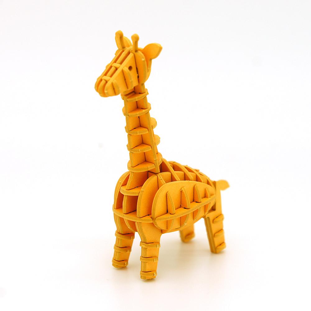 JIGZLE|3D紙拼圖 長頸鹿