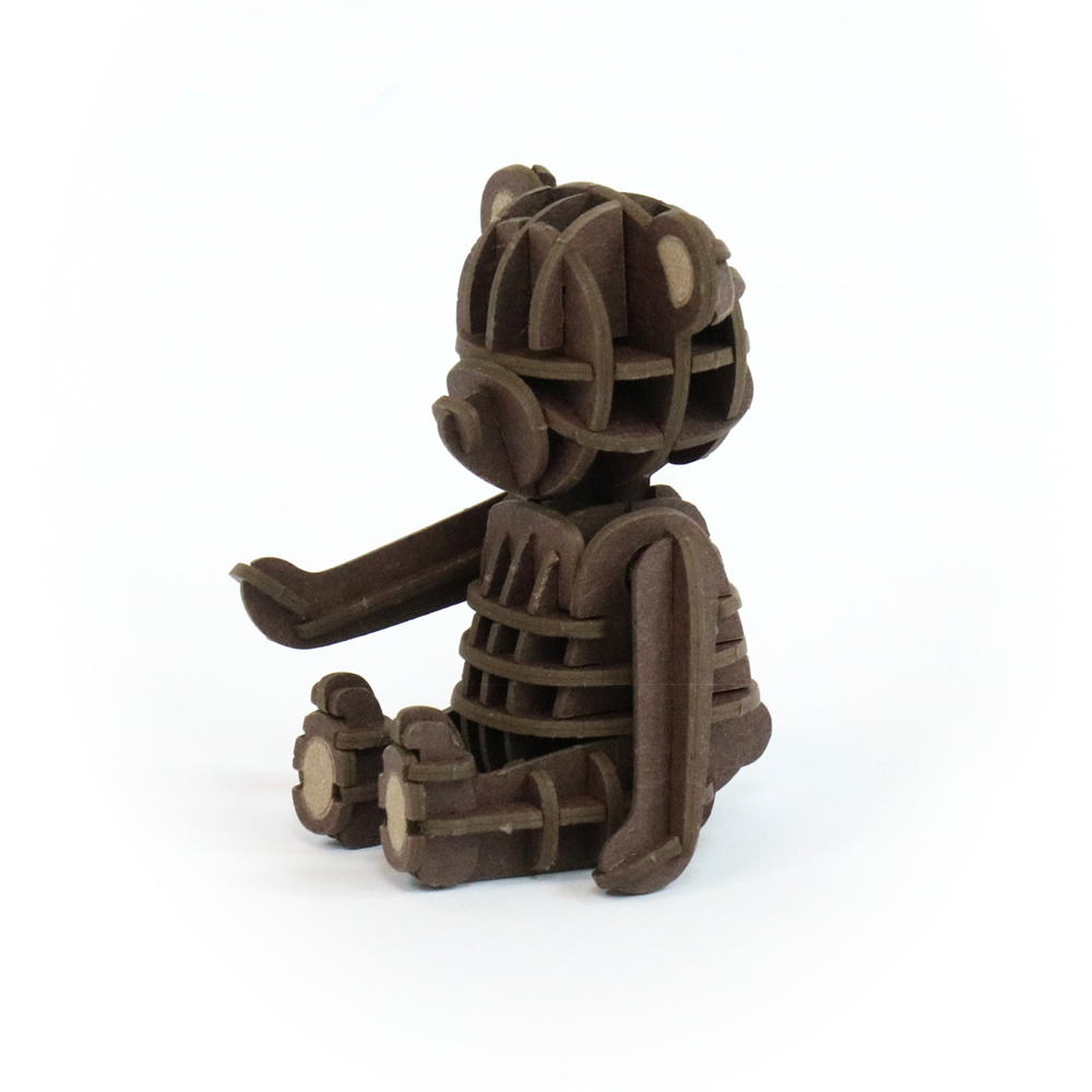 JIGZLE|3D紙拼圖 泰迪熊