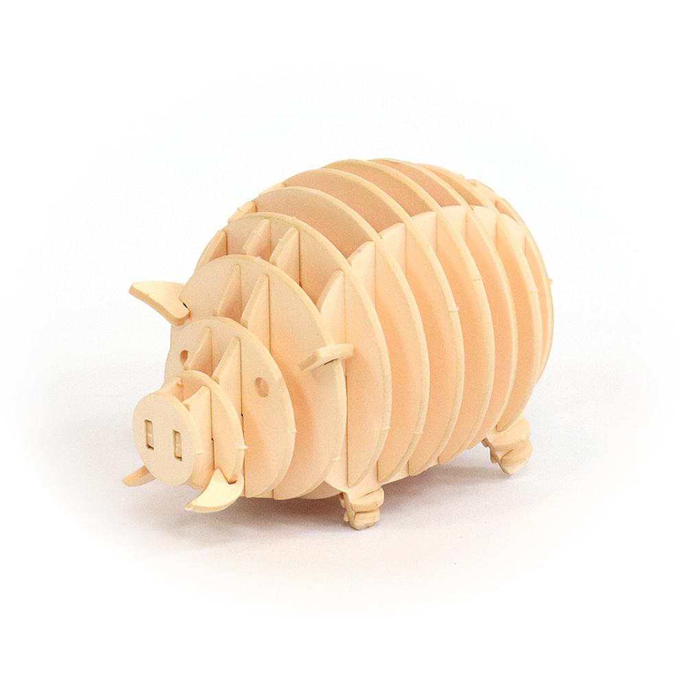 JIGZLE|3D紙拼圖 豬