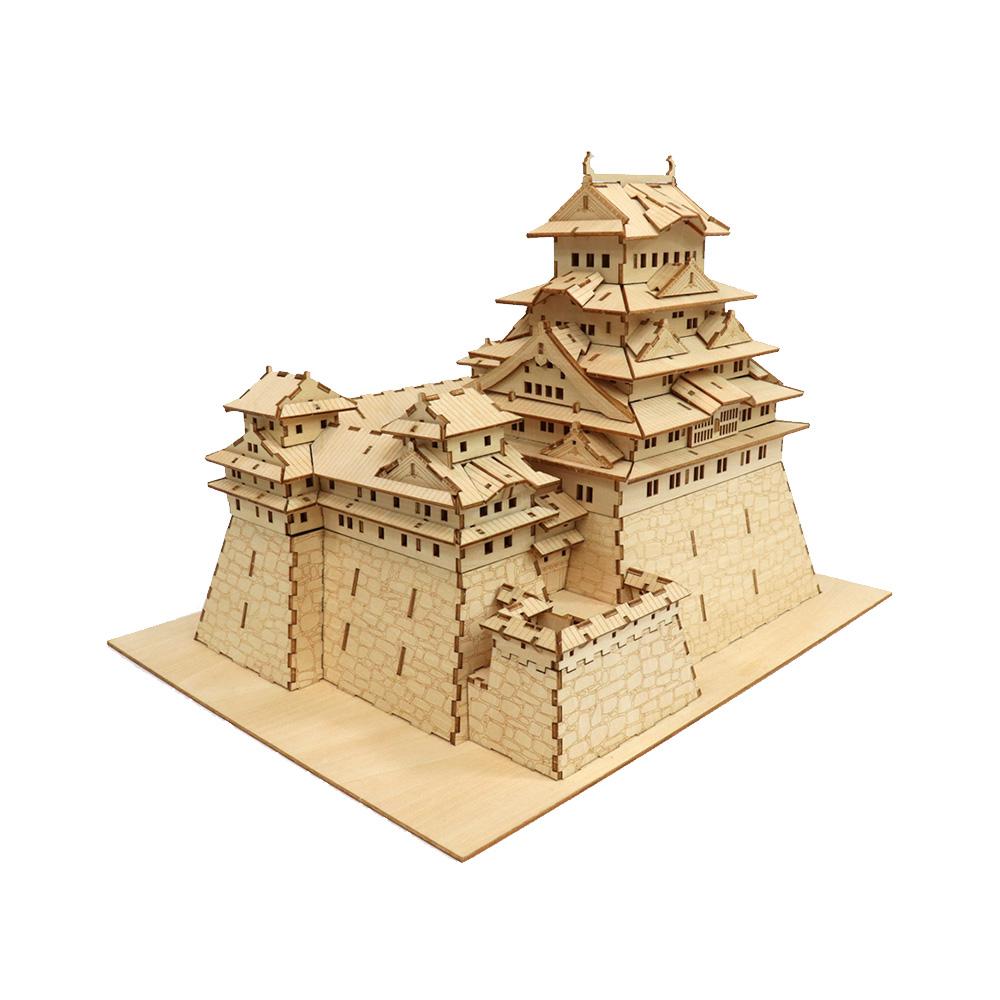 JIGZLE|3D木拼圖 姬路城堡