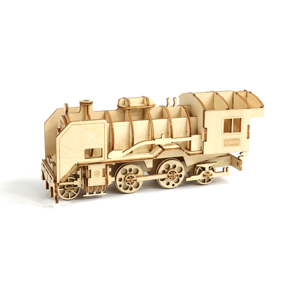 JIGZLE 3D木拼圖 D51200火車