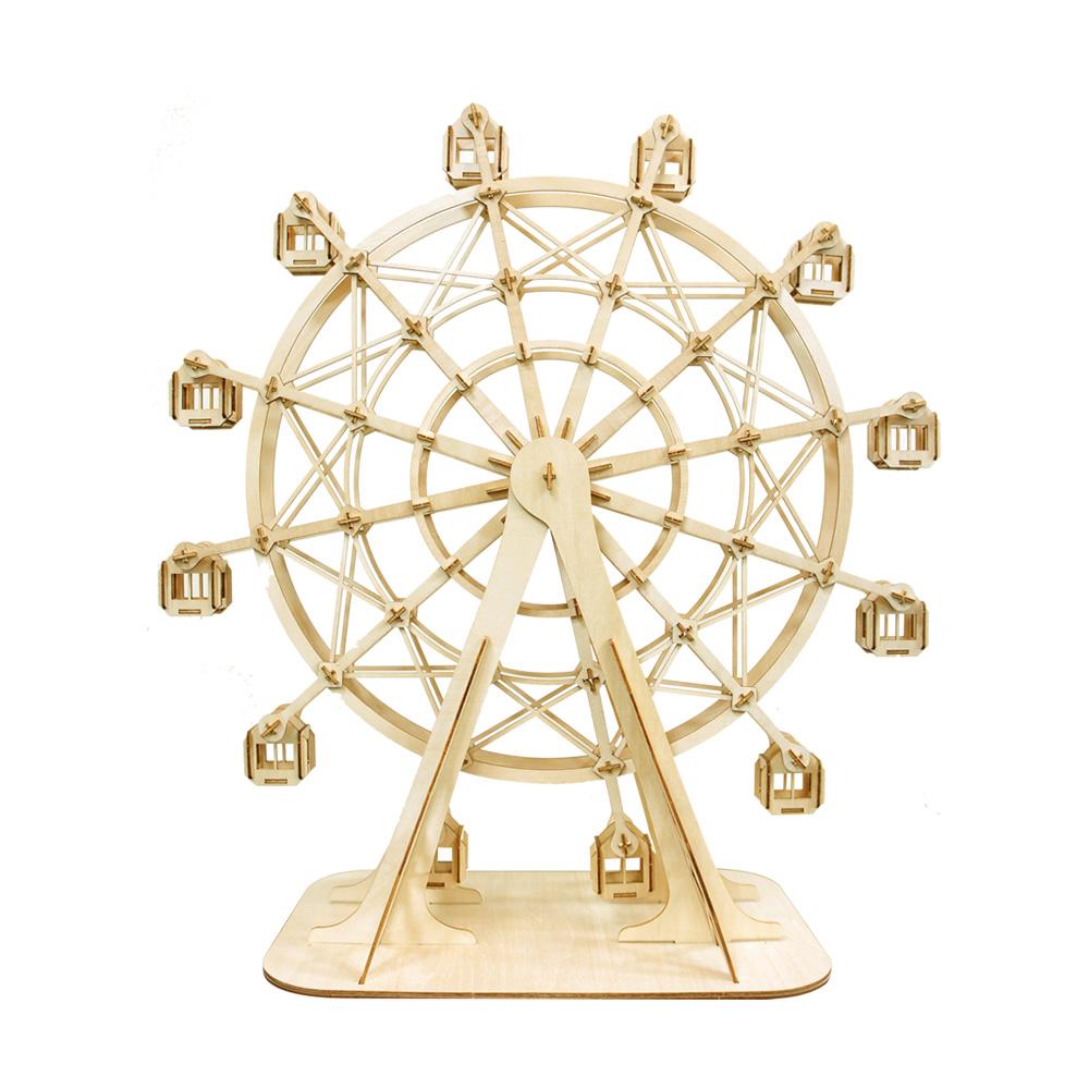JIGZLE|3D木拼圖 摩天輪