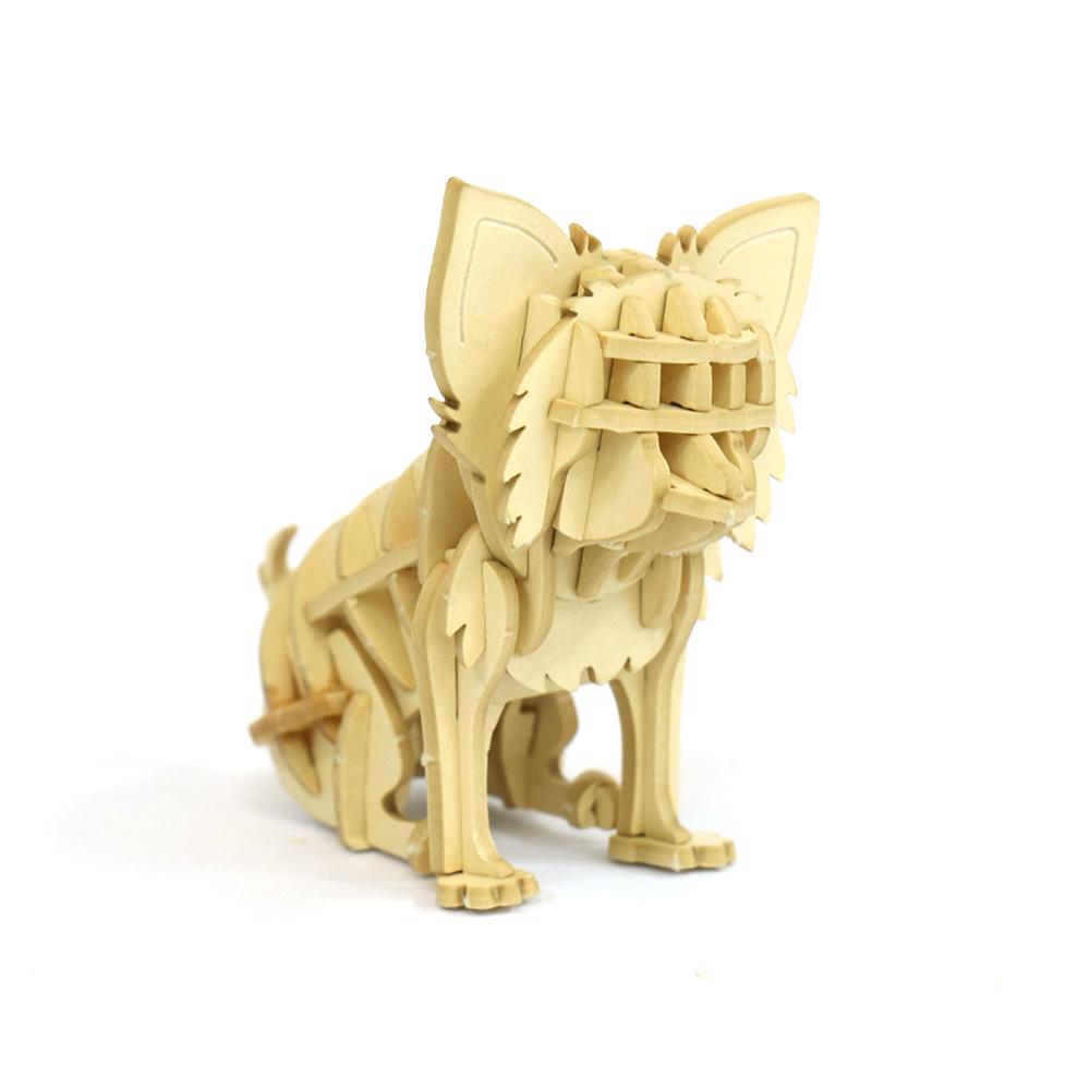 JIGZLE|3D紙拼圖 吉娃娃