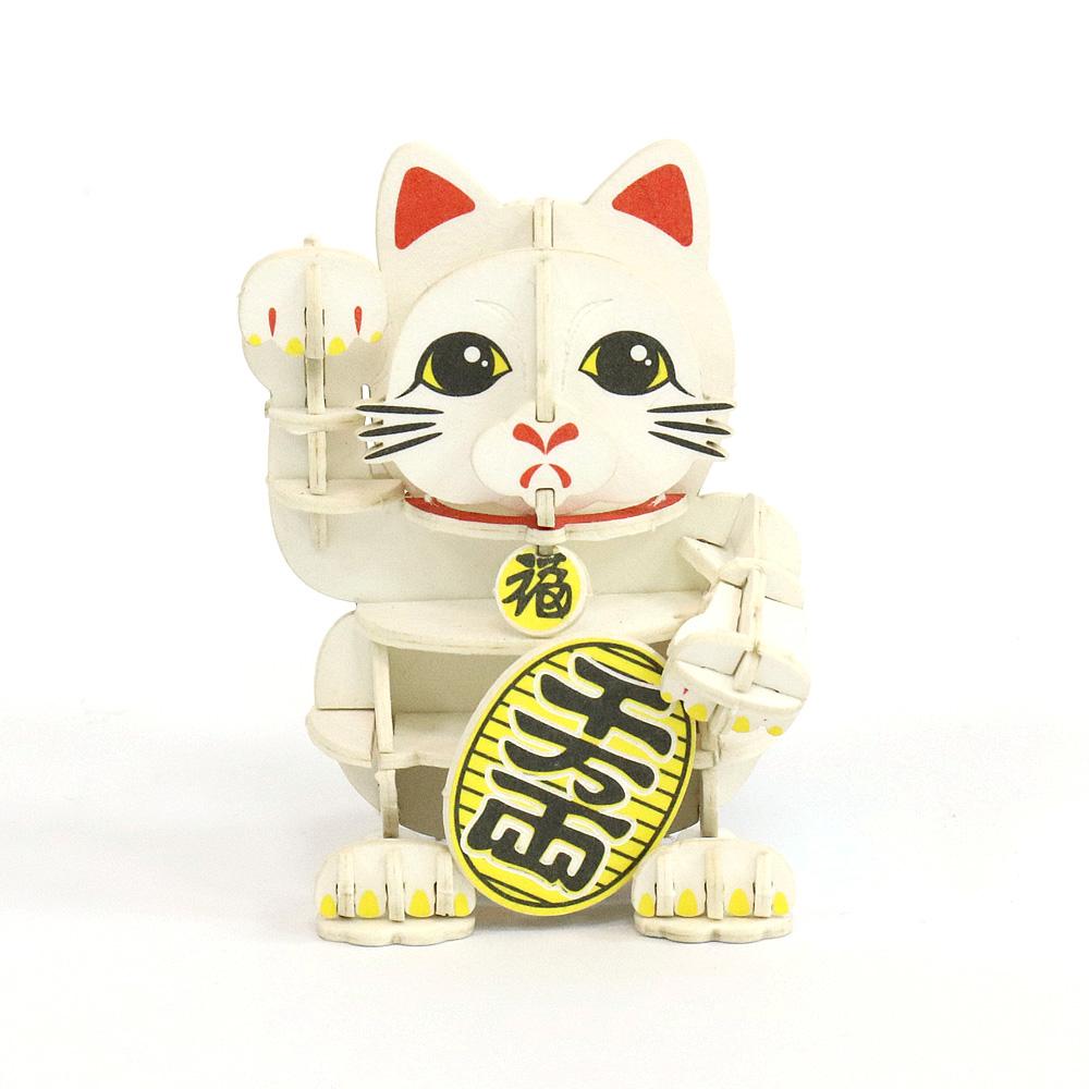 JIGZLE|3D紙拼圖 招財貓
