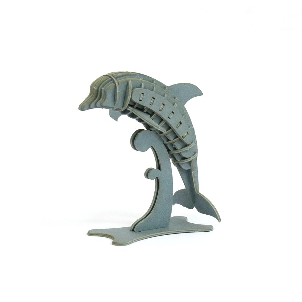 JIGZLE|3D紙拼圖 海豚