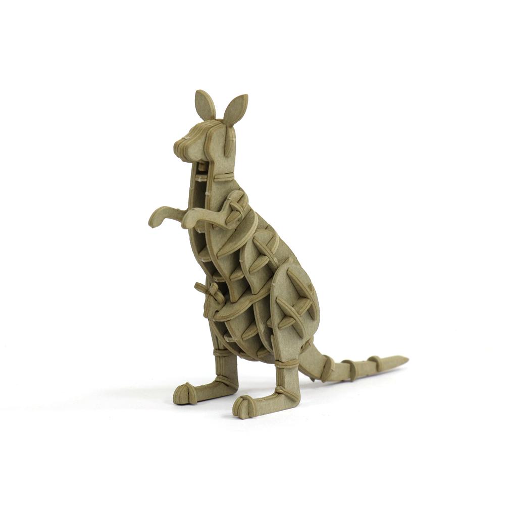 JIGZLE|3D紙拼圖 袋鼠