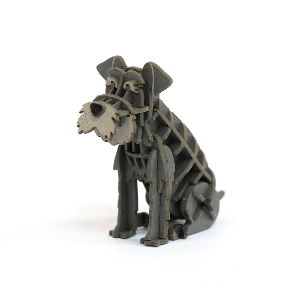 JIGZLE|3D紙拼圖 雪納瑞