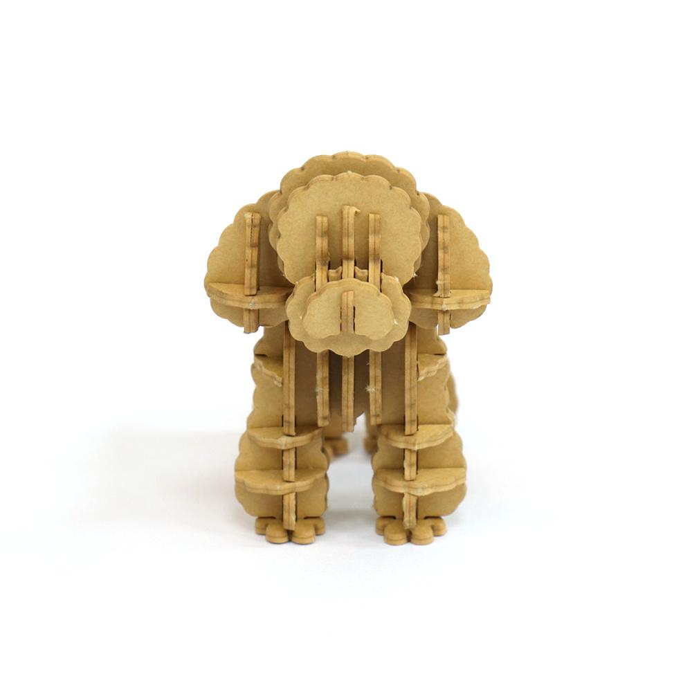 JIGZLE|3D紙拼圖 貴賓犬