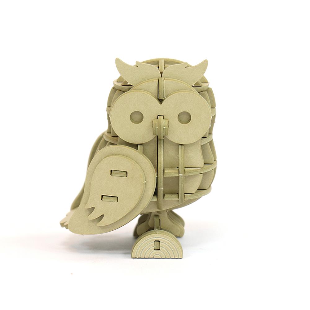 JIGZLE|3D紙拼圖 貓頭鷹