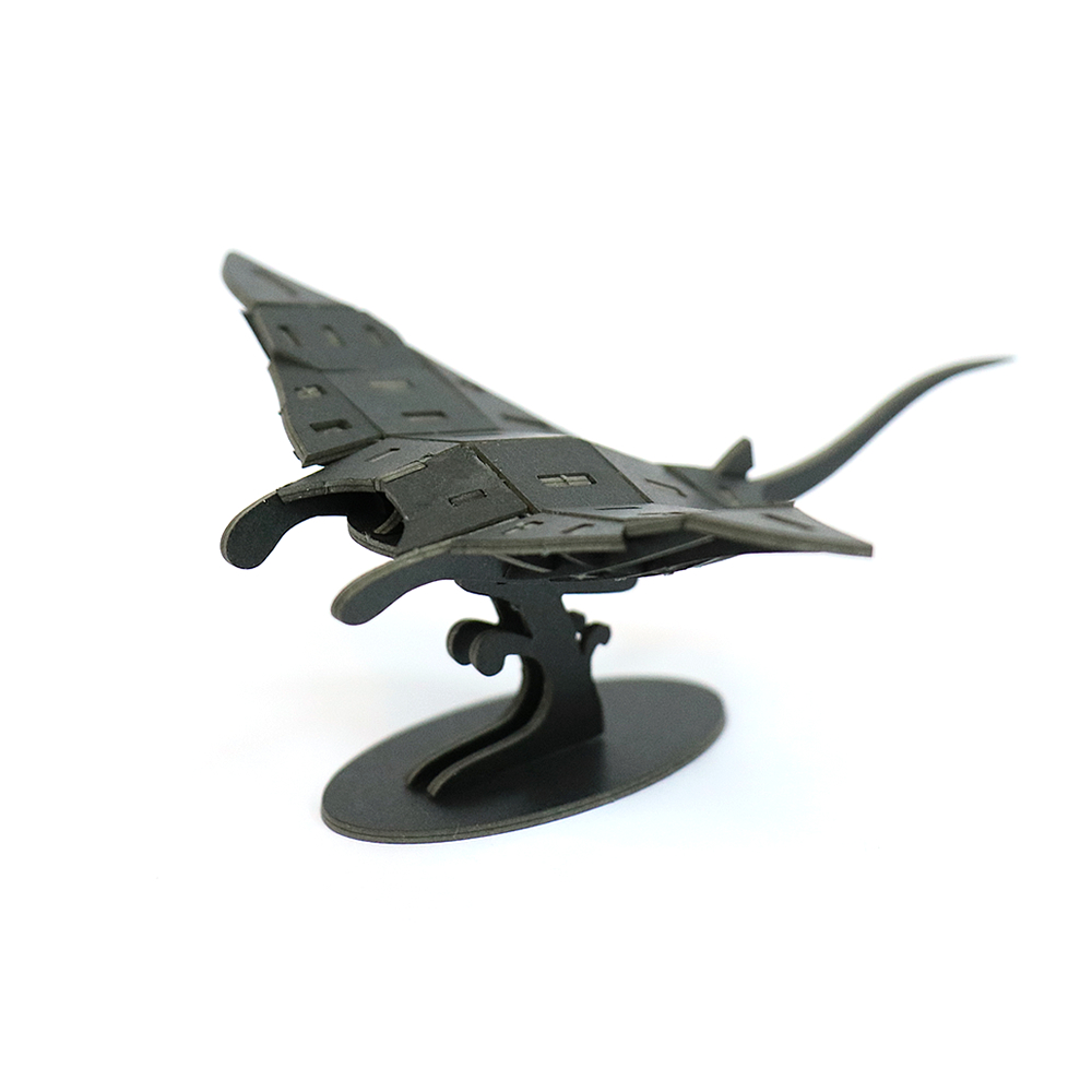 JIGZLE 3D紙拼圖 魔鬼魚