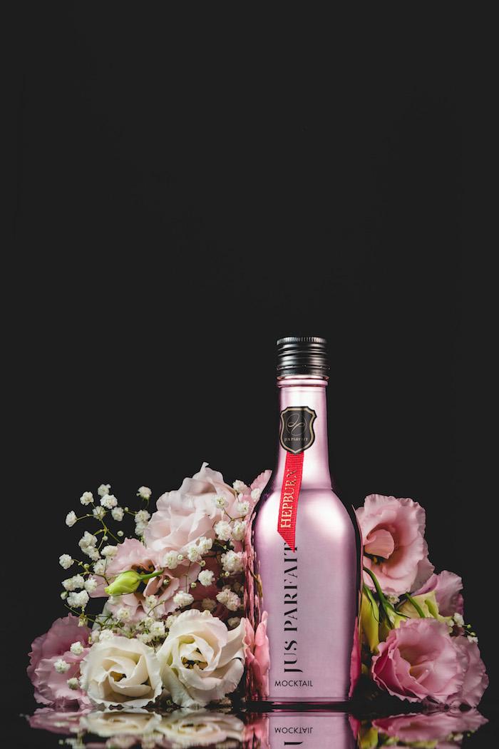 JUS PARFAIT|無酒精雞尾酒式飲品-HEPBURN 310ml(玫瑰金色)