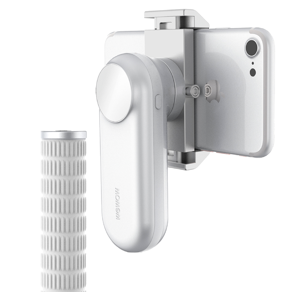 WEWOW|Fancy 手機智能穩定器 (月光銀)