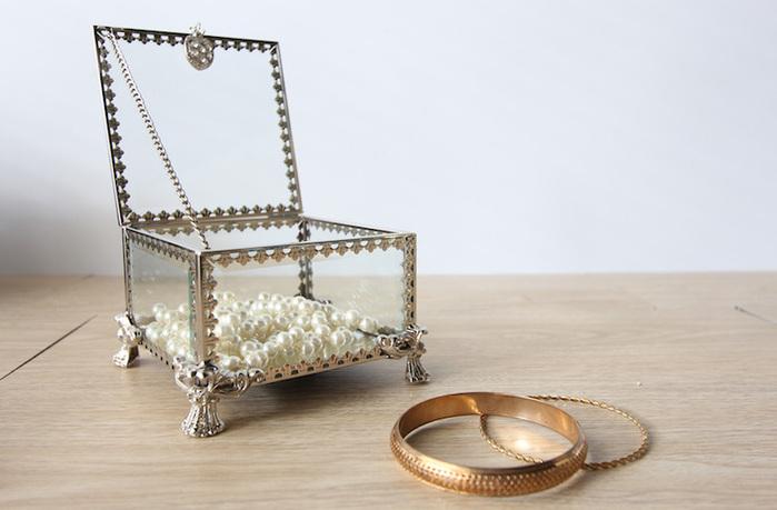 目喜生活 | 華麗鏡面玻璃金屬盒