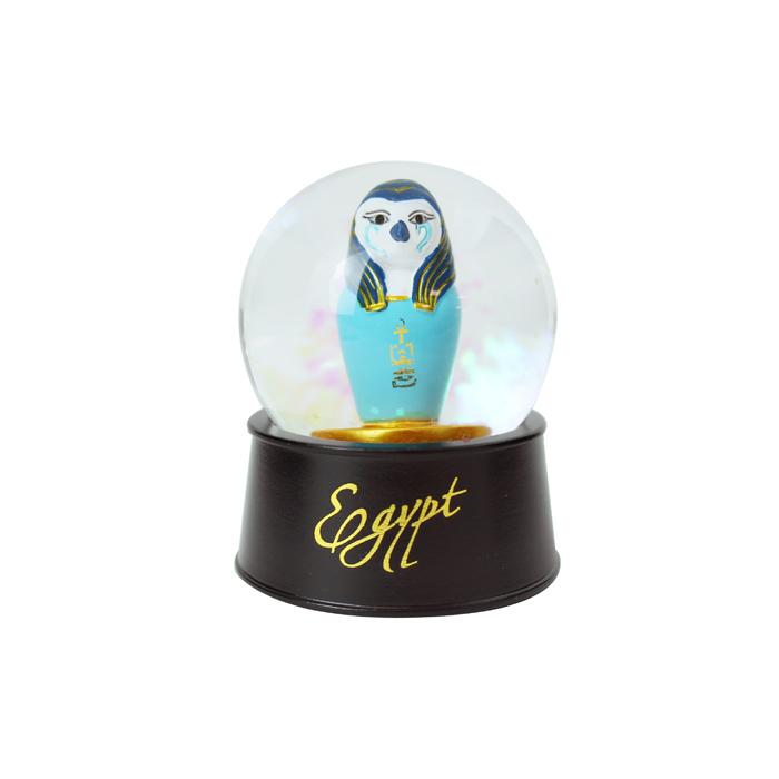 拾藝術|大英埃及展 水晶球磁鐵 鷹罐