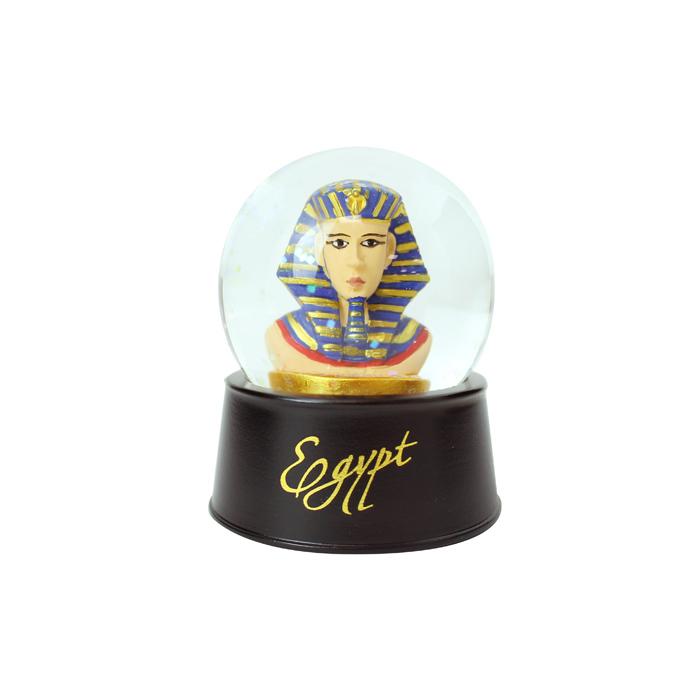 拾藝術 大英埃及展 水晶球磁鐵  法老王