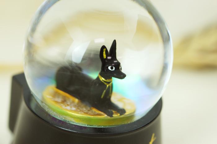 拾藝術|大英埃及展 水晶球磁鐵  胡狼