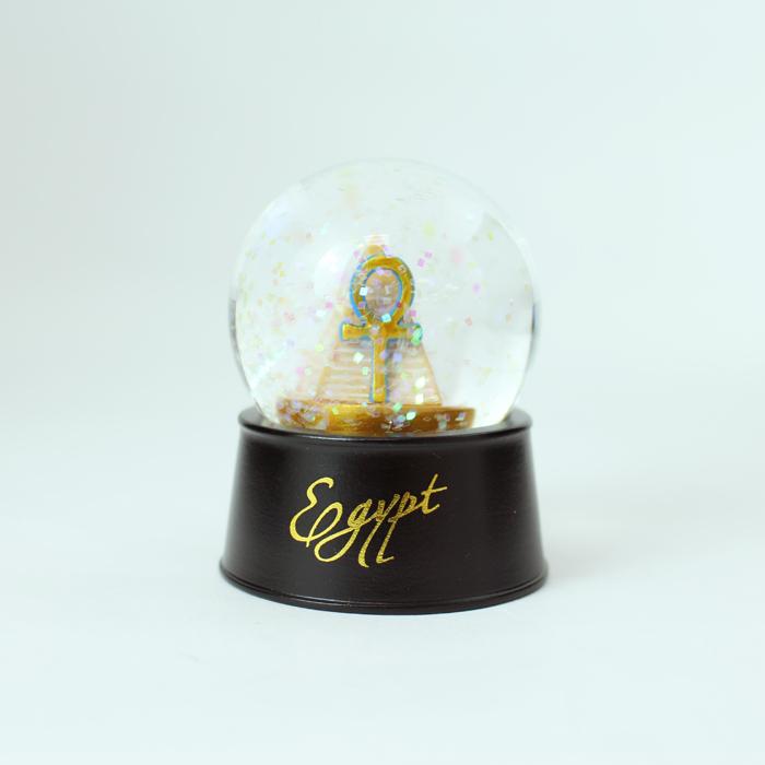 拾藝術|大英埃及展 水晶球磁鐵  金字塔