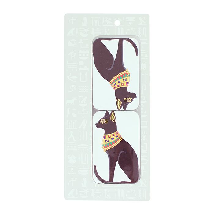 拾藝術|大英埃及展 雙面鏡 貓神