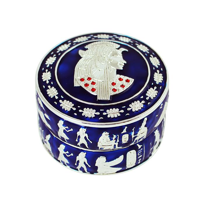 拾藝術|大英埃及展 珠寶盒 圓型