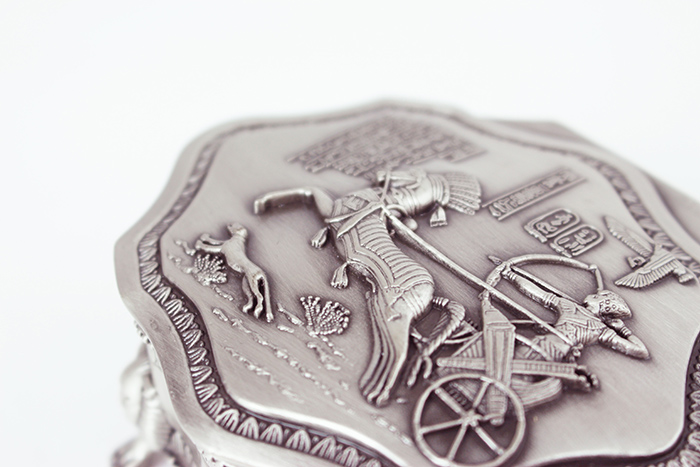 拾藝術 大英埃及展 珠寶盒 多角