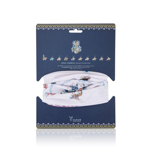 拾藝術|奇美 運動頭巾 西洋兵器(白)