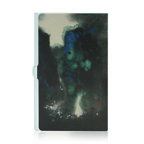 拾藝術|名片盒 張大千 山嵐