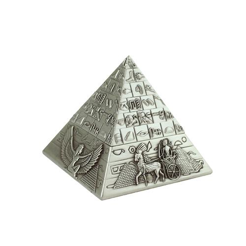 拾藝術|大英埃及展 珠寶盒 金字塔(銀)
