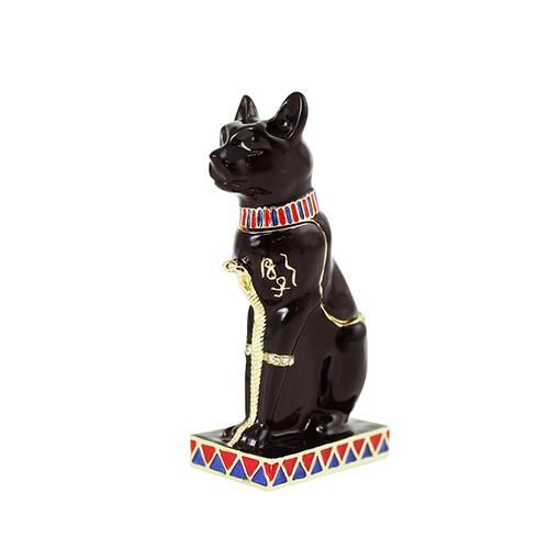 拾藝術 大英埃及展 珠寶盒 貓神