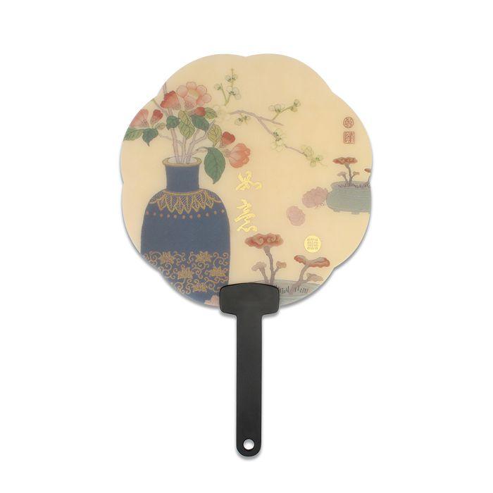 (複製)故宮精品 花漾扇-花與蝶