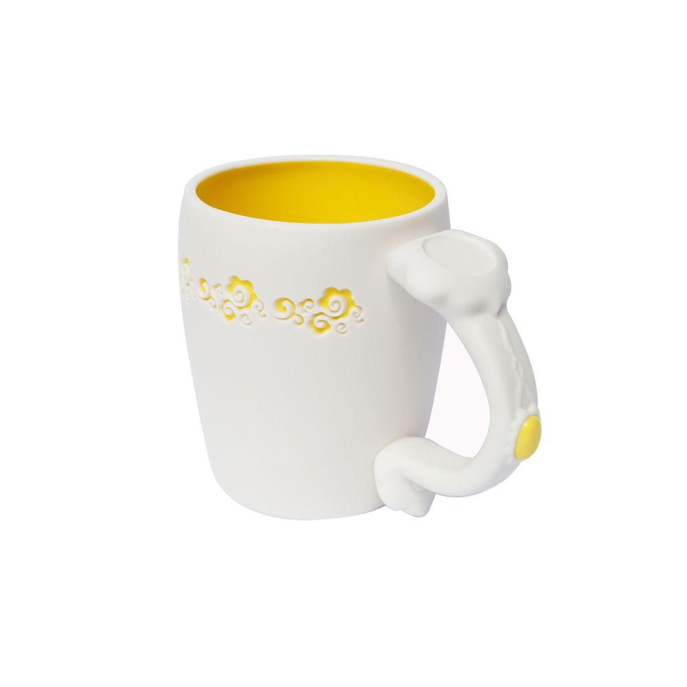 故宮精品|如意馬克杯 皇帝黃